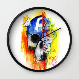 Kapow-tain Wall Clock