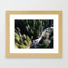 Fear of Heights Framed Art Print