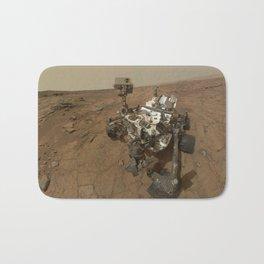 NASA Curiosity Rover's Self Portrait at 'John Klein' Drilling Site in HD Bath Mat