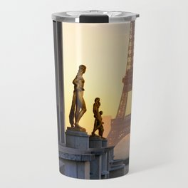 Sunrise in Paris France Travel Mug