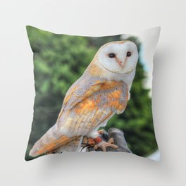 Taking a look back at me Throw Pillow