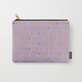 Hazel Bunny Pattern Carry-All Pouch