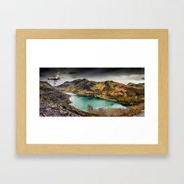 Llyn Peris Snowdonia Framed Art Print