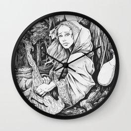 The Bard Wall Clock