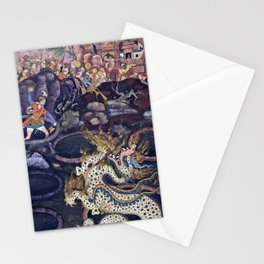 Umar Defeats a Dragon Stationery Cards