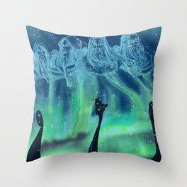 Viking warriors soul Throw Pillow