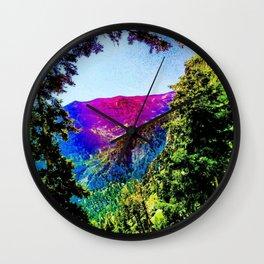Mount Charleston Wall Clock