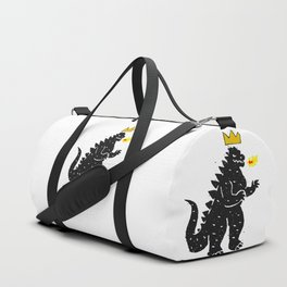 Jean-Michel Basquiat's Crown on Japanese Monster Duffle Bag