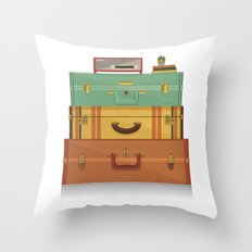 staycation Throw Pillow