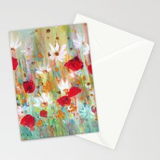 A summer meadow Stationery Cards