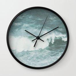 Faded sea Wall Clock