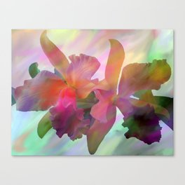 Easter Orchids Canvas Print