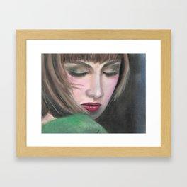 Heartbroken Framed Art Print