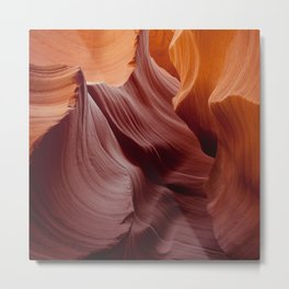 Canyon Walls Metal Print