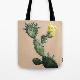 Cactus on Terra Cotta Tote Bag
