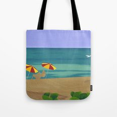 South Beach Pillow 2 Tote Bag