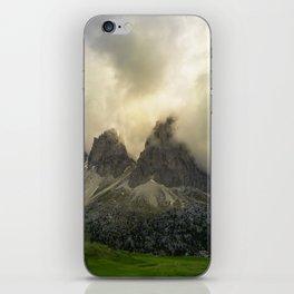 Dolomiti from Sella Pass iPhone Skin