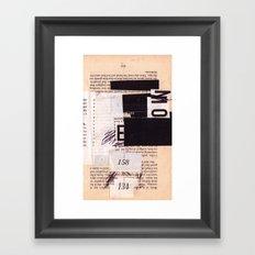 BOOKMARKS SERIES pg 302 Framed Art Print