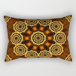 Beautiful Celtic style star mandala Rectangular Pillow