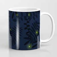 fireflies Mugs featuring Fireflies by Helena's universe