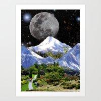 walk the moon Art Prints featuring Walk by Picklebackwilson