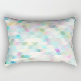 ambiguous geometry Rectangular Pillow