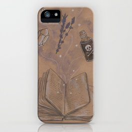 Witches Grimoire iPhone Case