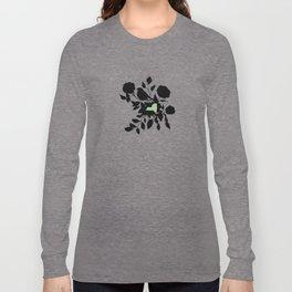 New York - State Papercut Print Long Sleeve T-shirt