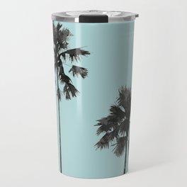 Blue palm beach Travel Mug