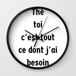 shut Wall Clock