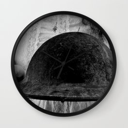 Untitled Black and White Wall Clock