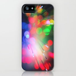 Bokeh Sample iPhone Case