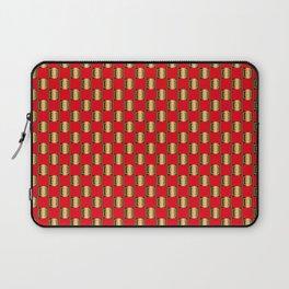 Traditional Japanese pattern MIMASU-ICHIMATSU Laptop Sleeve