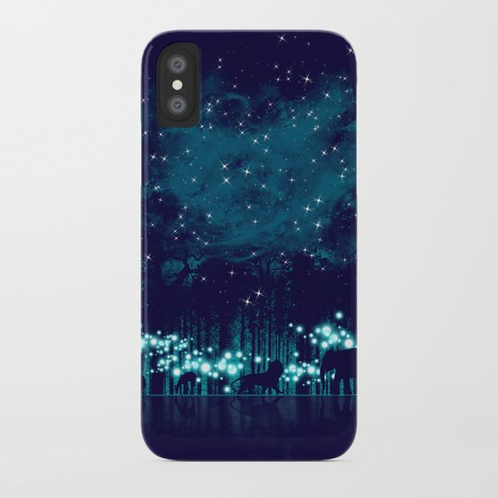 Cosmic Safari iPhone Case
