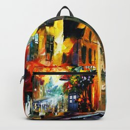 Starry Tardis Night Backpack