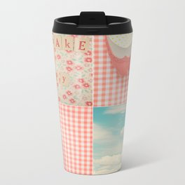 Happy Day Metal Travel Mug