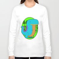 dino Long Sleeve T-shirts featuring Dino by R.E.L