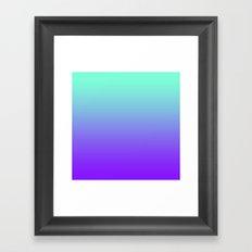 Tiffany Purple Fade Print Framed Art Print