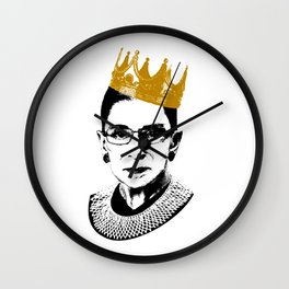 RBG Notorious Wall Clock