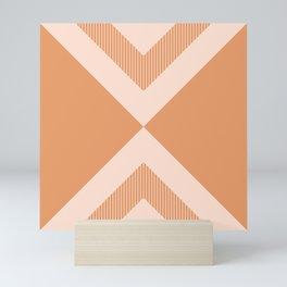 X Honey & Blush Mini Art Print