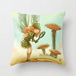 Goblins Drool, Fairies Rule! - Penny Clue Throw Pillow