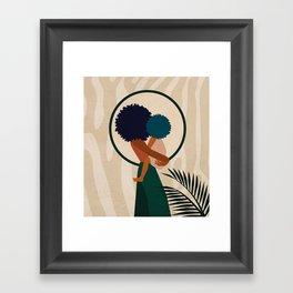 Stay Home No. 3 Framed Art Print