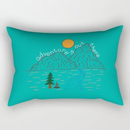 Adventure is out there! Rectangular Pillow