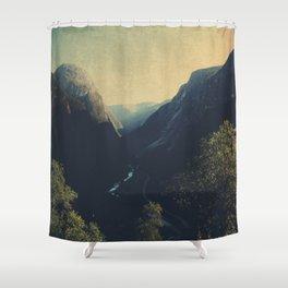 mountains VII Shower Curtain