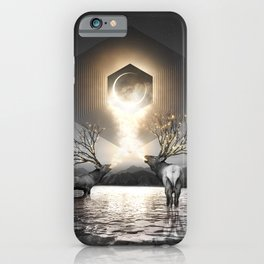 Moon Dust In Your Lungs iPhone Case