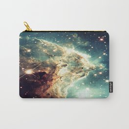Monkey Head Nebula. Dreamy Teal Carry-All Pouch
