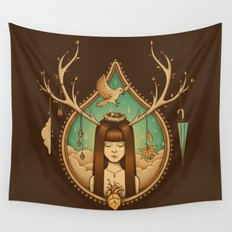 Autumn Delight Wall Tapestry