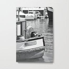 Freda - fishing boat - photography Metal Print