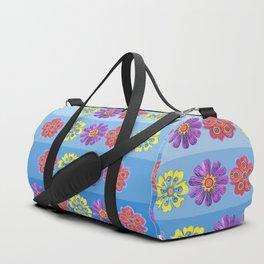 Stacks of Flowers Duffle Bag