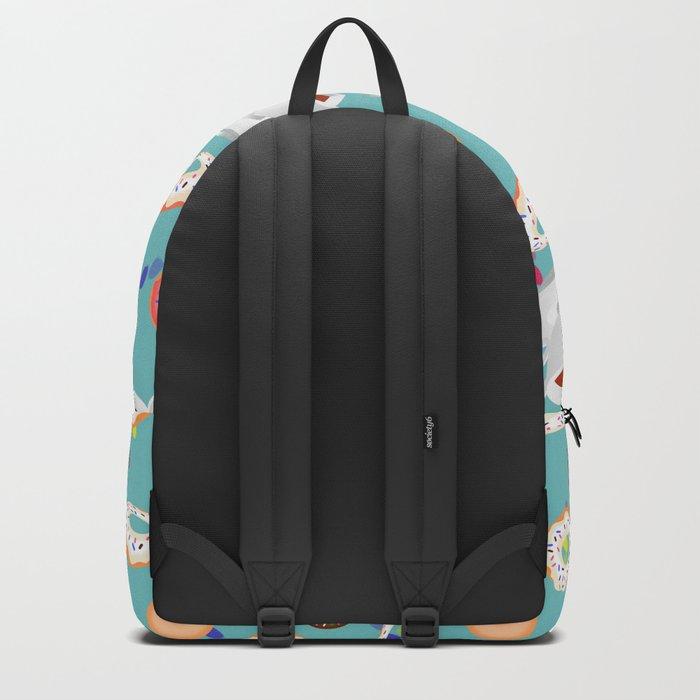 Coffee and Doughnuts Backpack